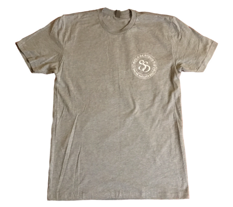 SOLESERIOUSS Stamp Tee Grey / White (S/S)