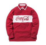Kith x Coca-Cola Classic Rugby Red