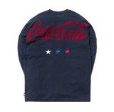 Kith x Coca-Cola Global L/S Tee Navy