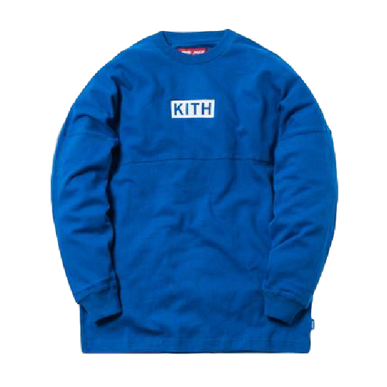 Kith x Coca-Cola Global L/S Tee Blue FW18