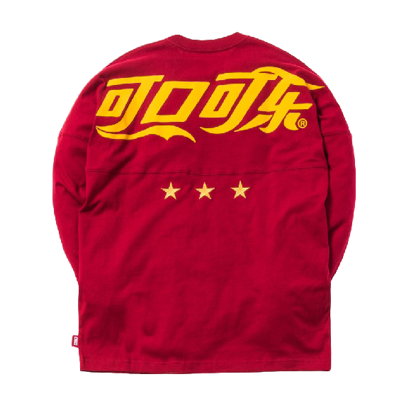 Kith x Coca-Cola Global L/S Tee Red