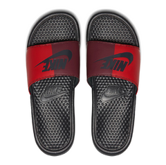 Nike Benassi JDI Split Slide Red/Anthracite