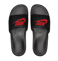 Nike Benassi JDI Slide Black/Challenge Red