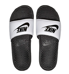 Nike Benassi JDI Slide White/Black