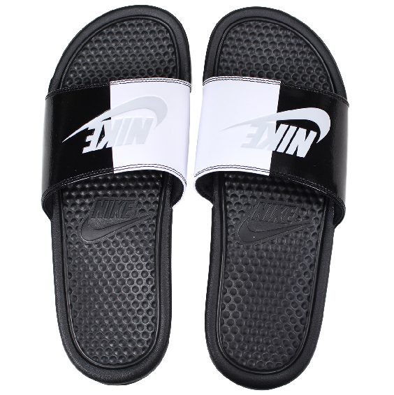 Nike Benassi JDI Split Slide Black/Pure Platinum
