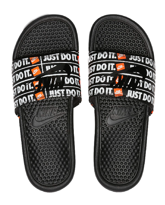 Nike Benassi JDI Print Slide Black / Orange