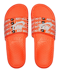 Nike Benassi JDI Print Slide Orange/Black