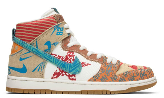 Nike SB Dunk High x Thomas Campbell What the Dunk