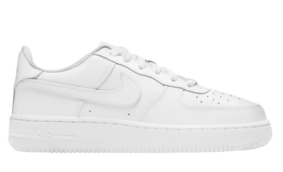 Nike Air Force 1 LE Triple White (GS)