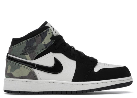 Air Jordan 1 Mid SE Camo (GS)