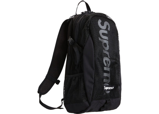 Supreme Backpack Black SS20