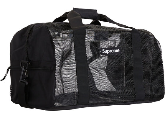Supreme Big Duffle Bag Black SS20