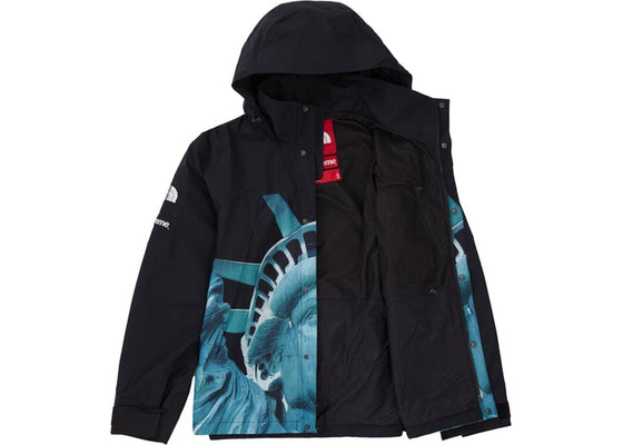 Supreme x The North Face Statue of Liberty Mountain Jacket Black FW19