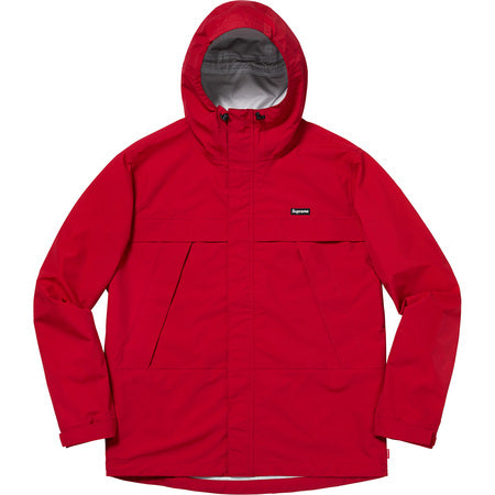 Supreme Dog Taped Seam Jacket Red FW18