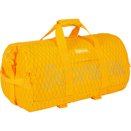 Supreme Duffle Bag Yellow FW18