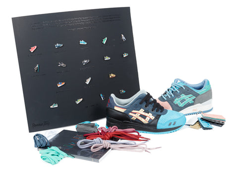 "ASICS x RONNIE FIEG GEL LYTE 3 III HOMAGE ""WHAT THE FIEG"""