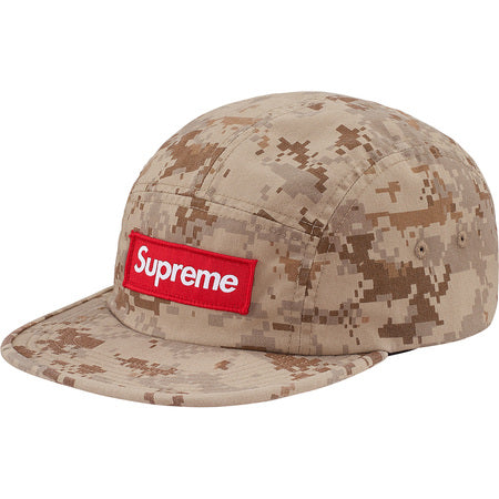 Supreme Nyco Twill Camp Cap Tan Digi Camo
