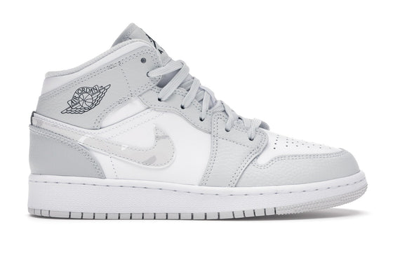 Air Jordan 1 Mid Grey Camo (GS)