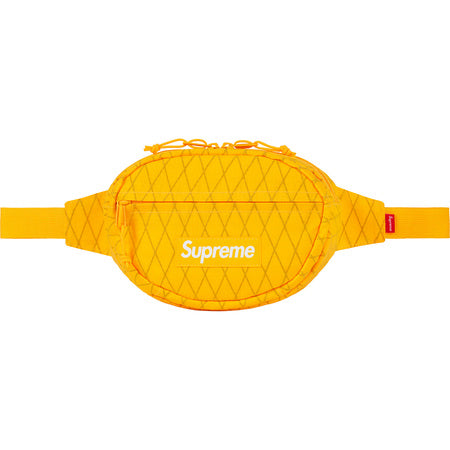 Supreme Waist Bag Yellow FW18