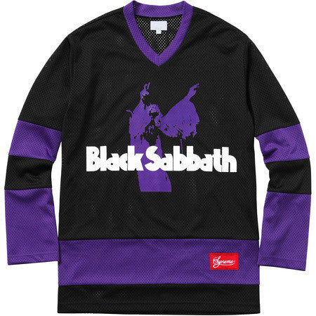 Supreme x Black Sabbath Hockey Jersey SS16