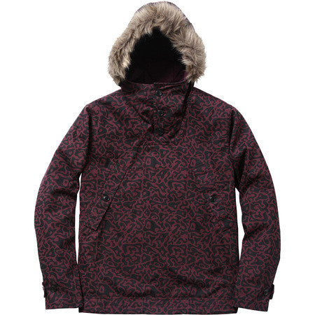 Supreme Pacific Camo Pullover Jacket Purple