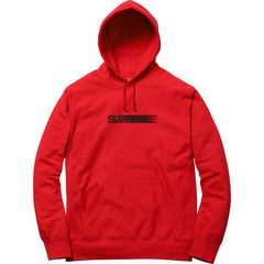 Supreme Motion Logo Hooded Sweatshirt Red