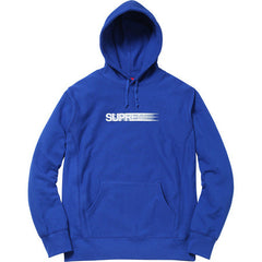 Supreme Motion Logo Hooded Sweatshirt Royal