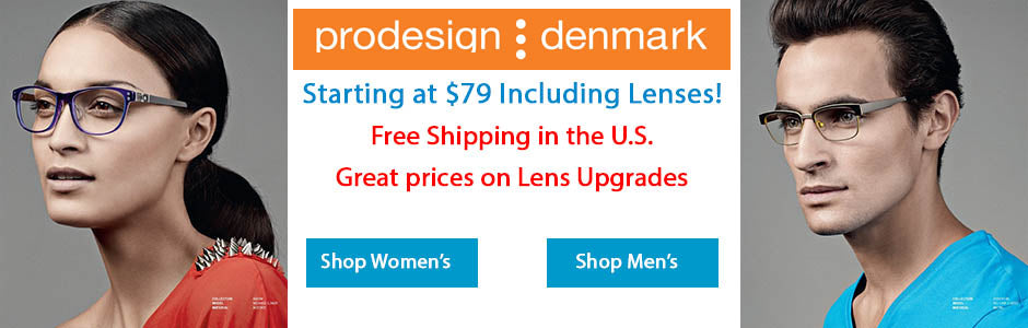 Prodesign Eyeglasses for an unbelievable price.