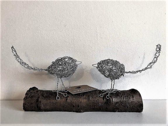 Wire Love Birds