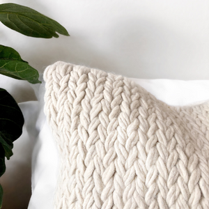 Monet Wool Pillow Cover | PRE-ORDER