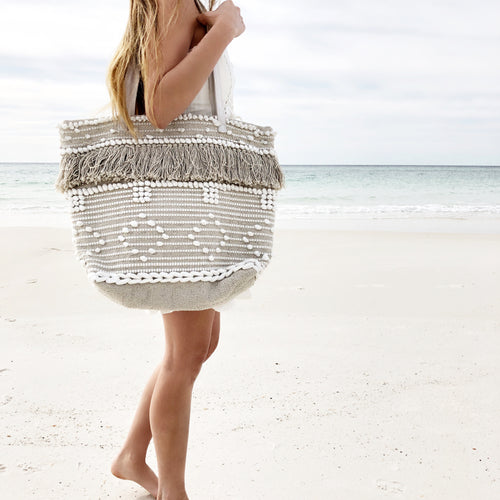 Ballou Beach Tote Bag