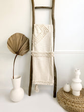 Load image into Gallery viewer, Natural Cove Handwoven Throw Blanket