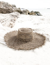 Load image into Gallery viewer, Palm Woven Seagrass Hat