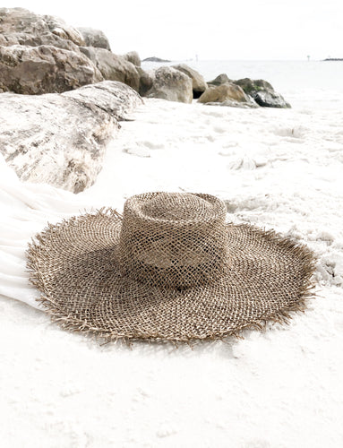 Palm Woven Seagrass Hat
