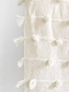 Cotton Sea Beach Throw Blanket - White