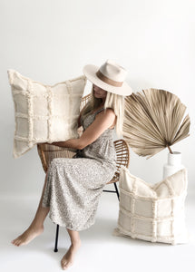 Marina Handwoven Pillow Cover | Pre-Order