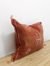 Load image into Gallery viewer, Anisah - Moroccan Cactus Silk Pillow