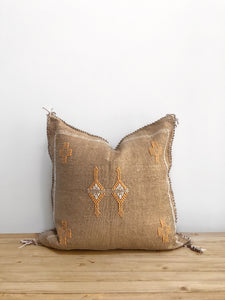 Salma - Moroccan Cactus Silk Pillow