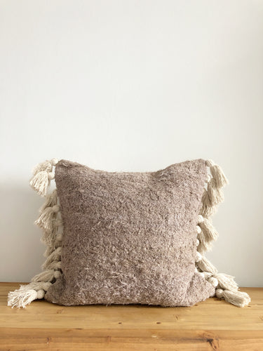 Textured Roo Pillow Cover - Mauve