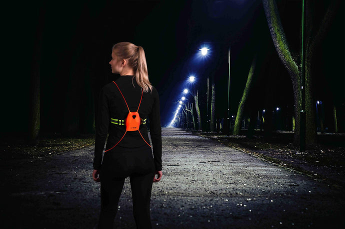 Rechargeable LED Vest - The VizyVest