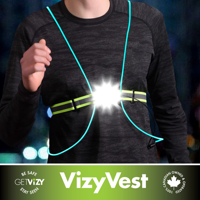 Rechargeable LED Vest