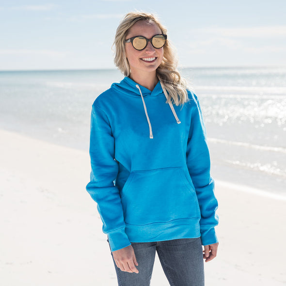 Women's Basic Recycled Hooded Sweatshirt