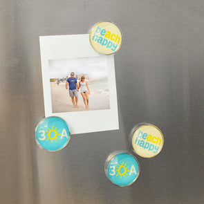 30A Beach Happy Magnet 4-Pack
