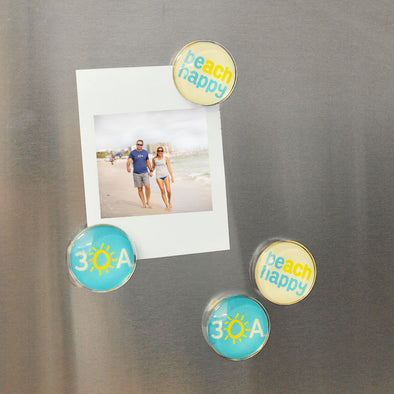 30A Beach Happy® Magnet 4-Pack