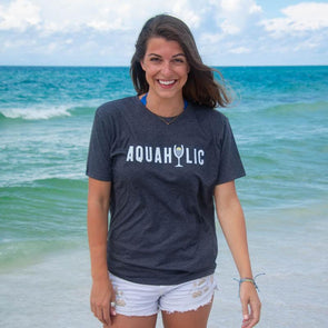 30A Aquaholic Recycled Tee