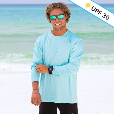 Solid Recycled Long Sleeve Sun Shirt
