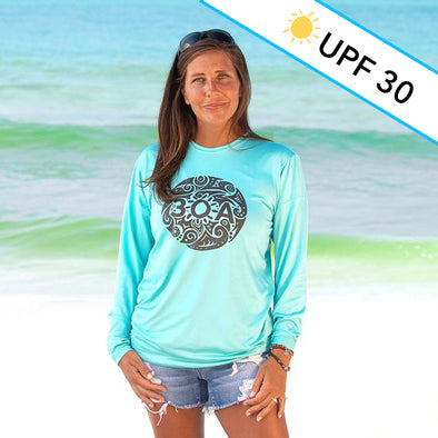 Tribal 30A Recycled Long Sleeve Sun Shirt