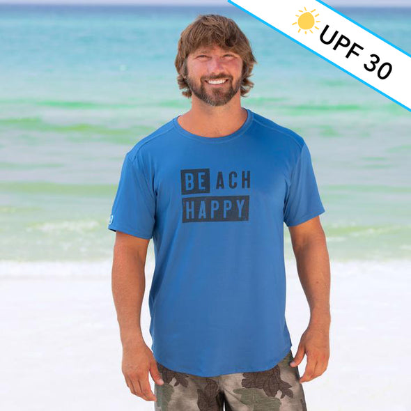 Block Beach Happy® Recycled Sun Shirt Tee