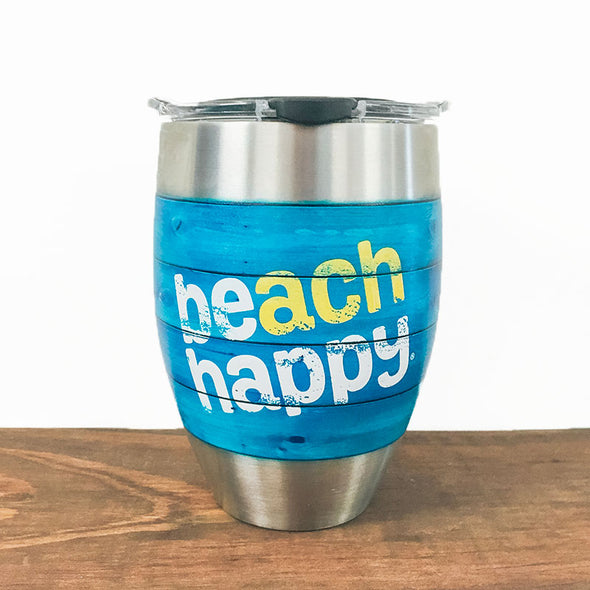 Beach Happy Stainless Tervis Claret