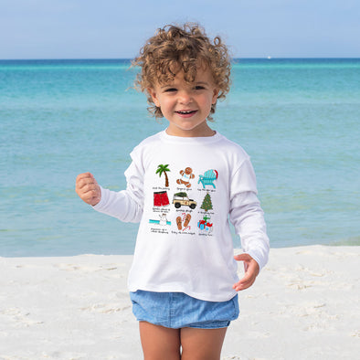 30A x Callie Danielle Christmas Youth Recycled Long Sleeve